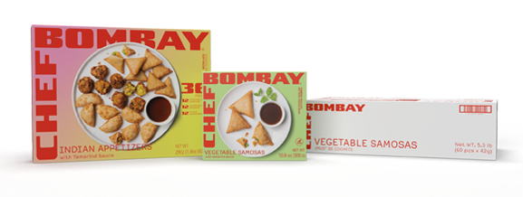 Chef Bombay Package Options